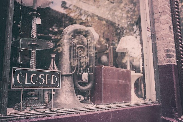 sklep zamknięty